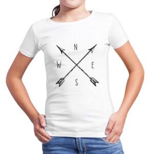 T-Shirt Bambina BUSSOLA VINTAGE
