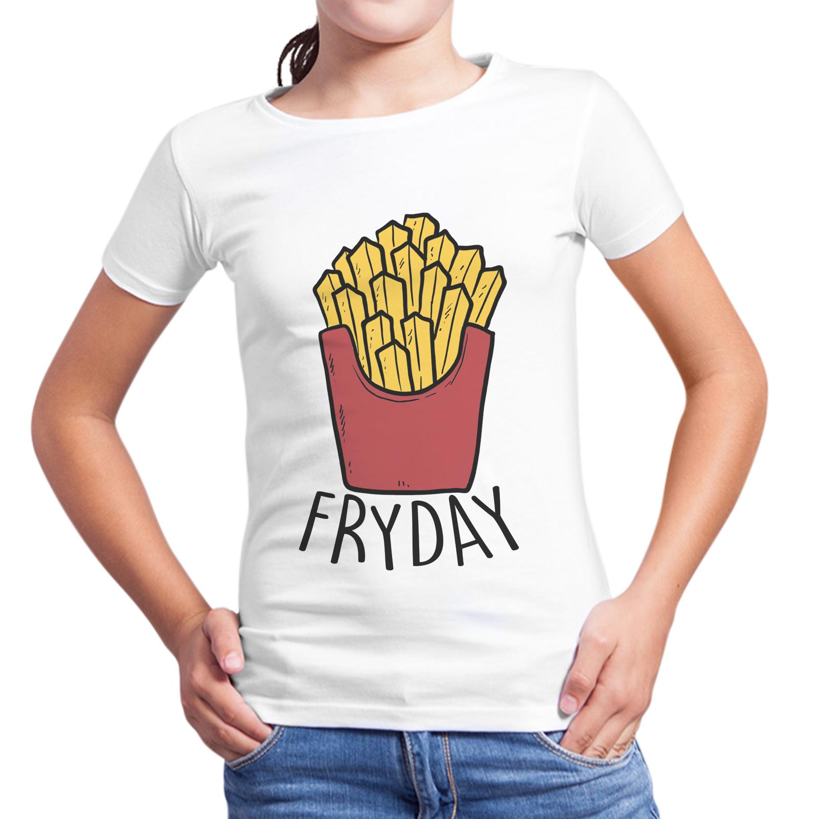 T-Shirt Bambina FRYDAY