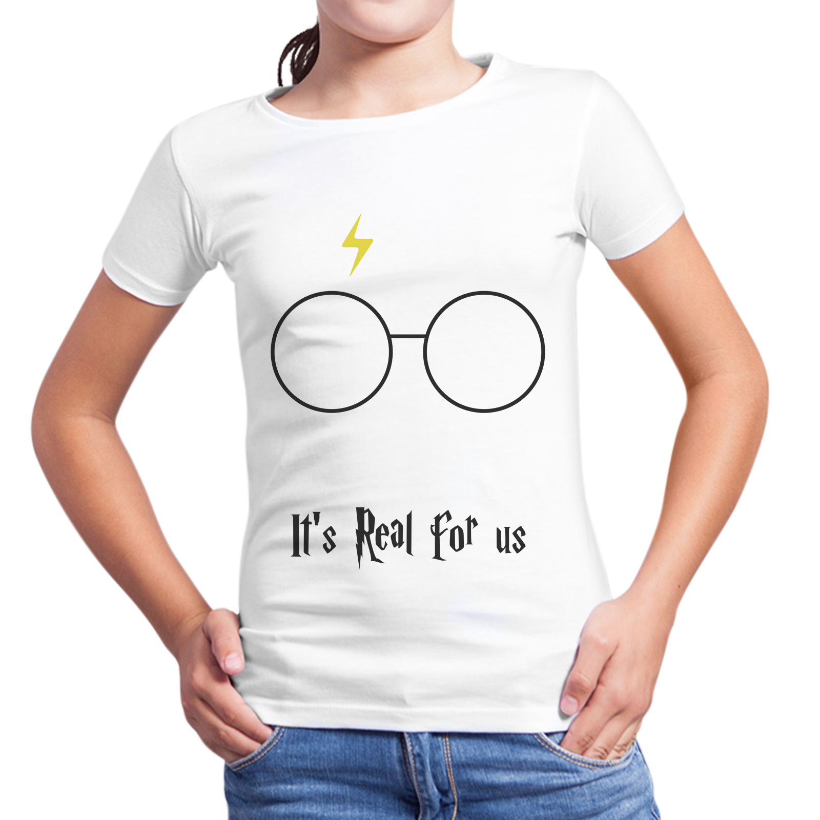 T-Shirt Bambina HARRY POTTER REAL