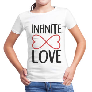 T-Shirt Bambina INFINITE LOVE