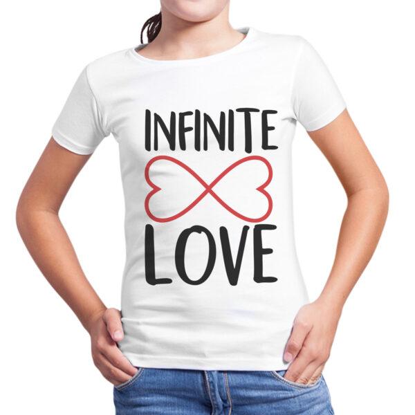 T-Shirt Bambina INFINITE LOVE 1