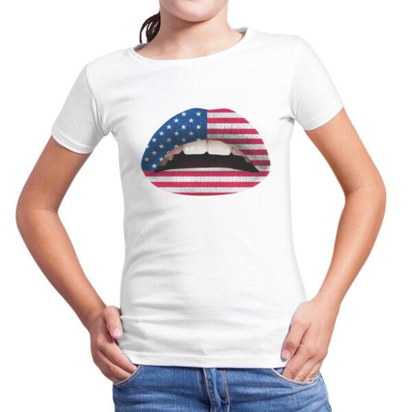 T-Shirt Bambina LABBRA AMERICA 1