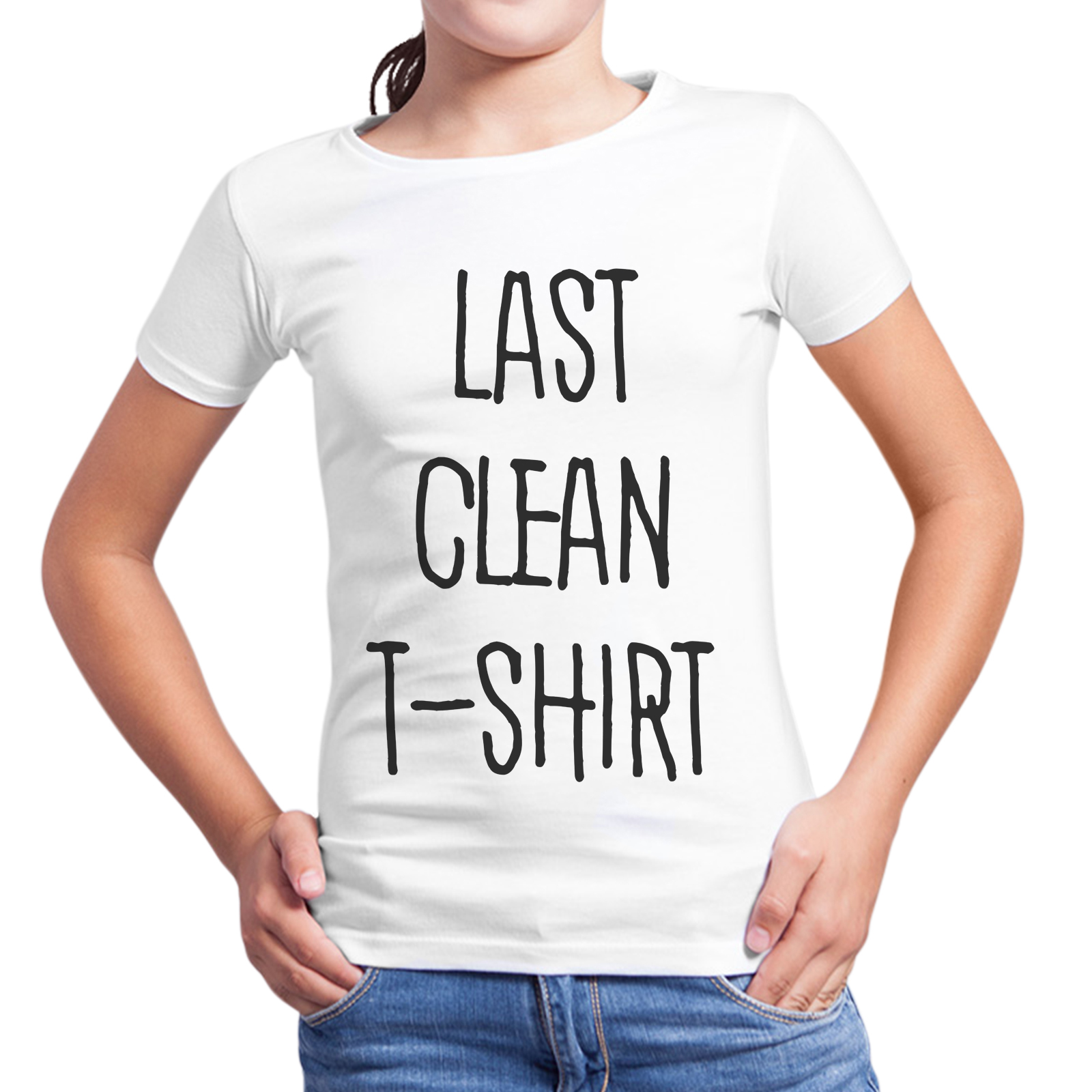T-Shirt Bambina LAST CLEAN T-SHIRT