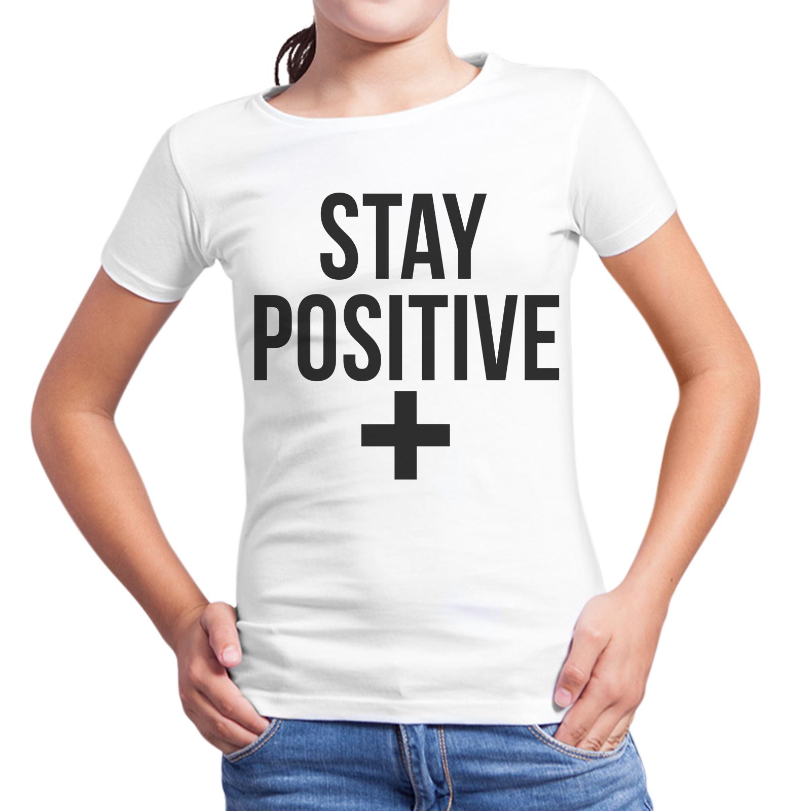 T-Shirt Bambina STAY POSITIVE 1