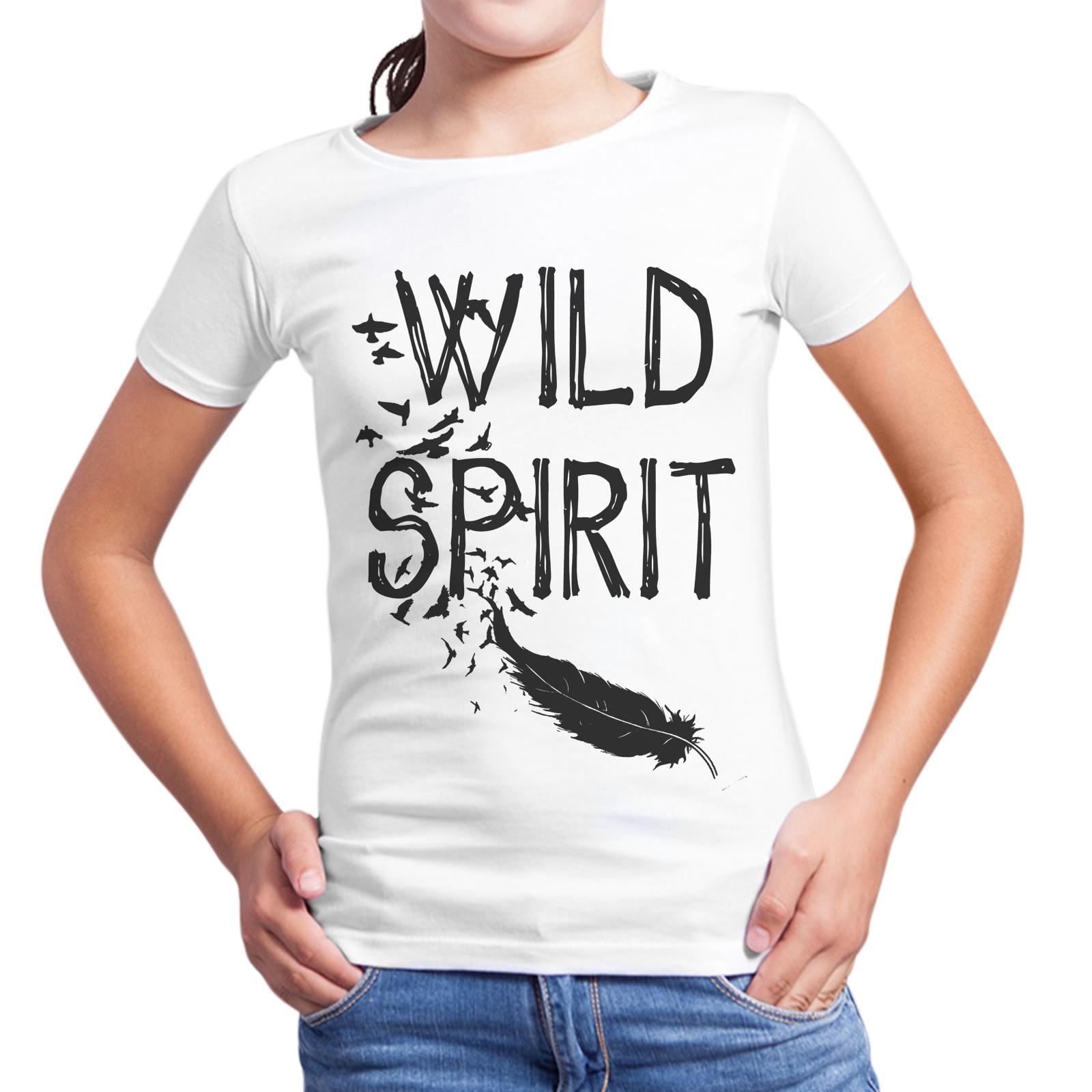 T-Shirt Bambina WILD SPIRIT