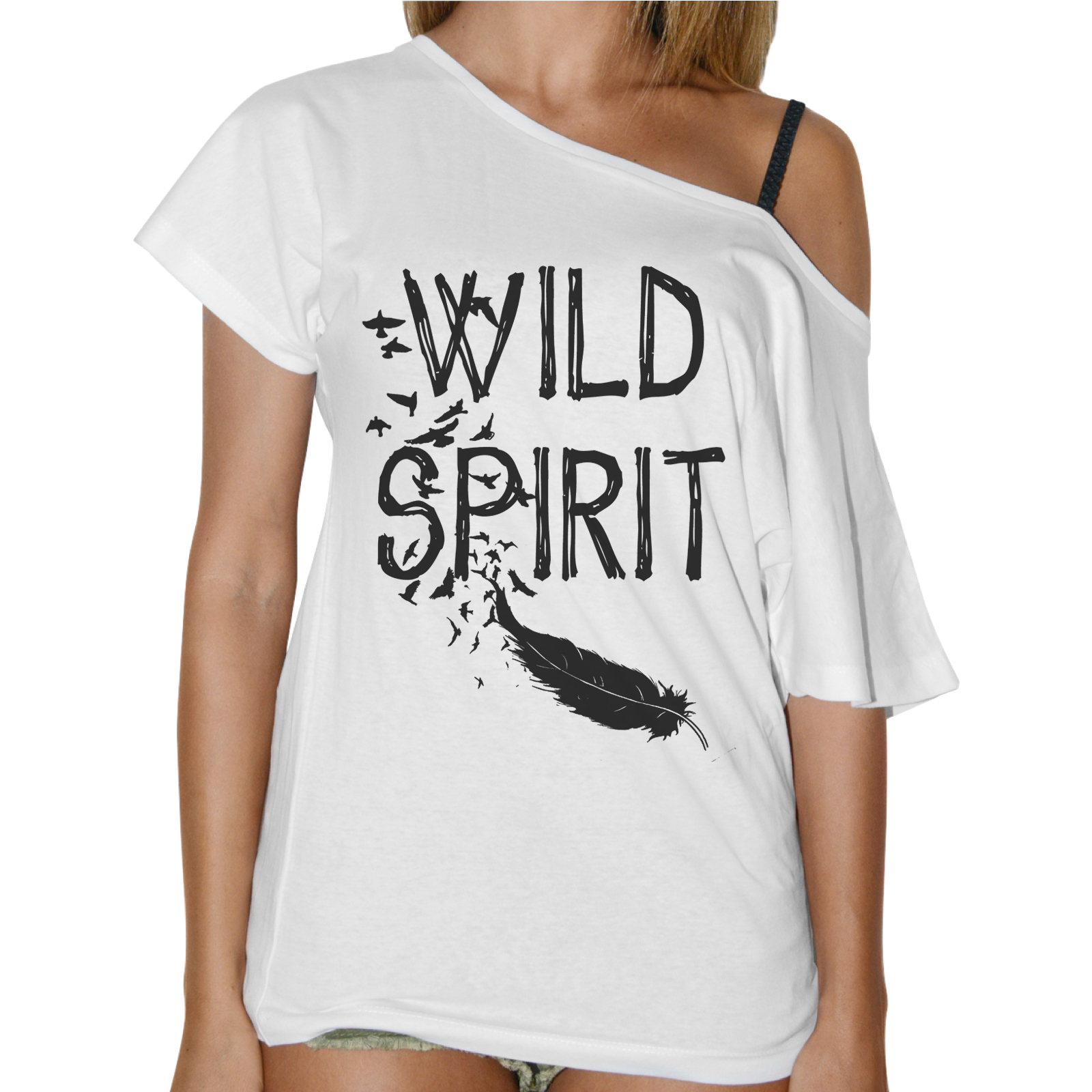 T-Shirt Donna Collo Barca WILD SPIRIT 1
