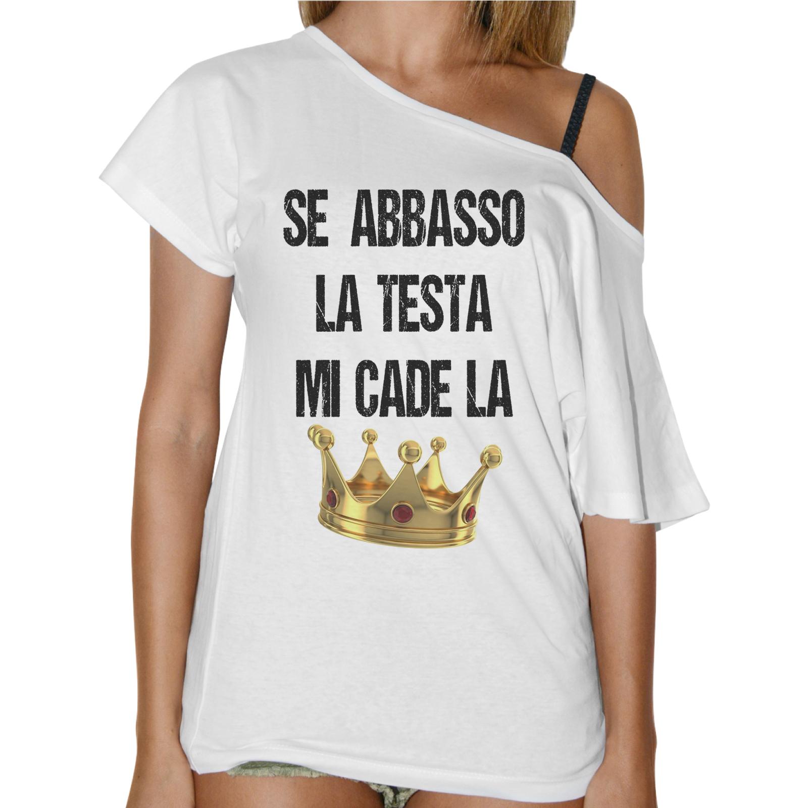T-Shirt Donna Collo Barca CADE LA CORONA