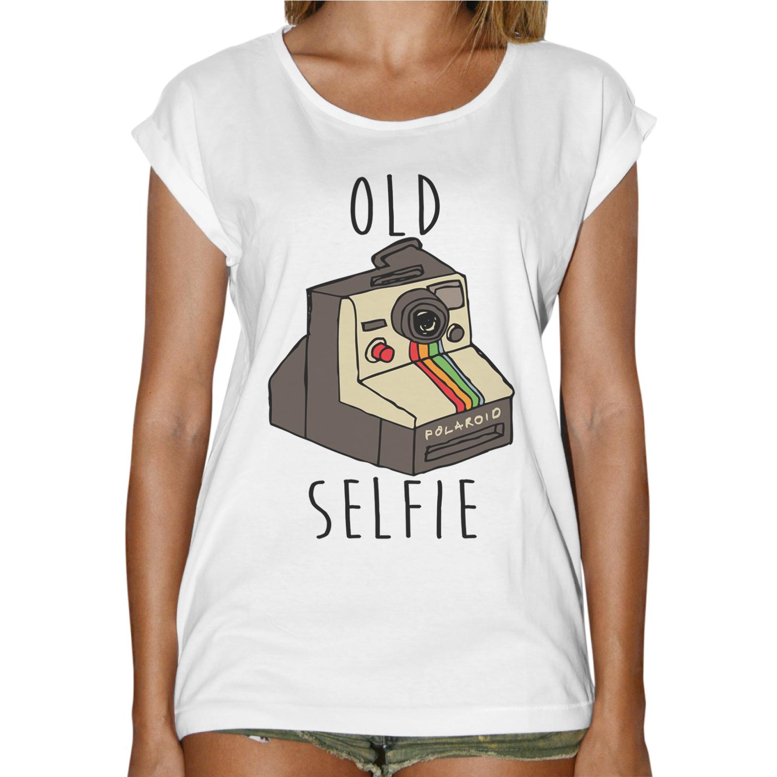 T-Shirt Donna Fashion OLD SELFIE
