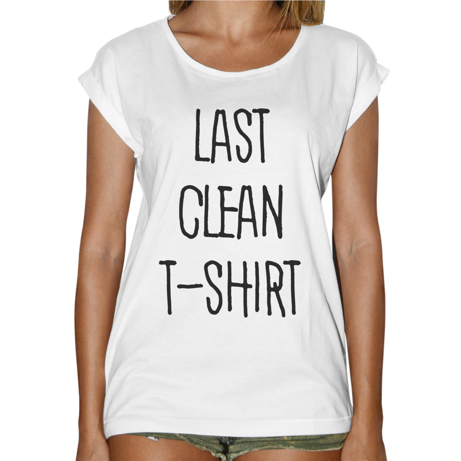 T-Shirt Donna Fashion LAST CLEAN T-SHIRT
