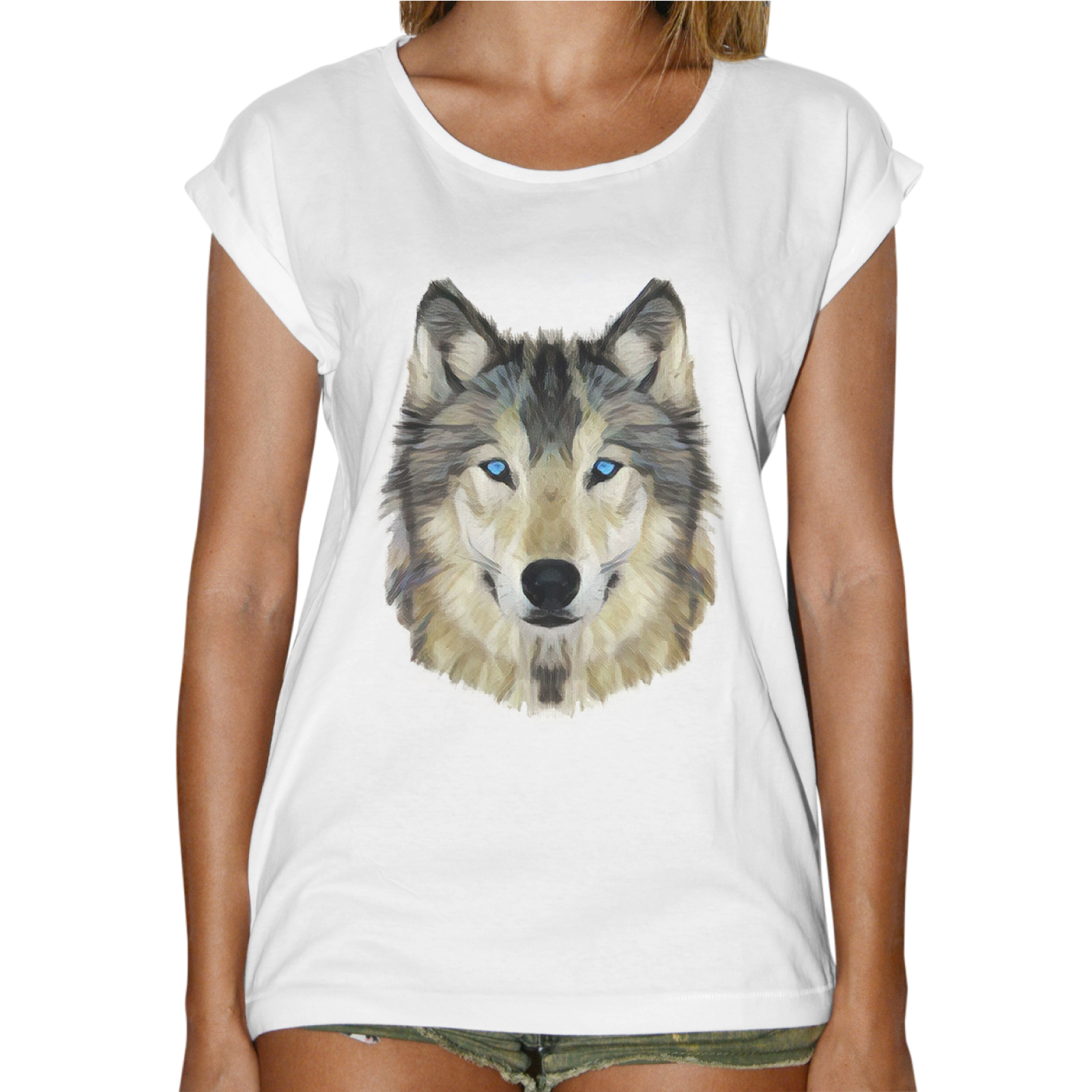 T-Shirt Donna Fashion WOLF DRAW