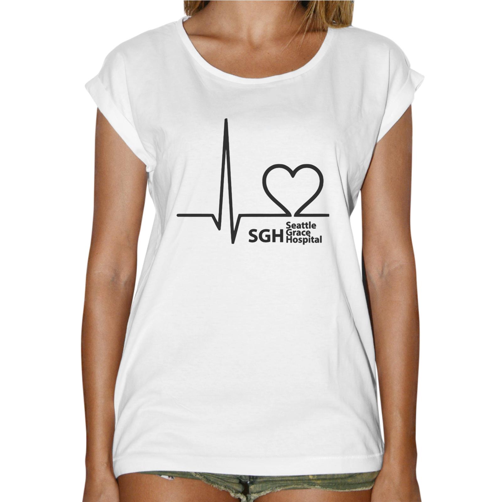 T-Shirt Donna Fashion GREY'S ANATOMY HOSPITAL