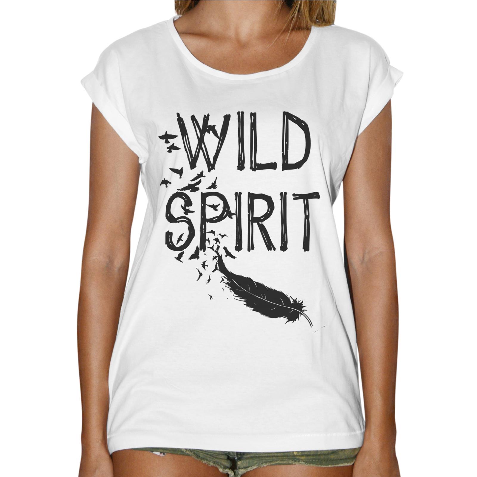 T-Shirt Donna Fashion WILD SPIRIT