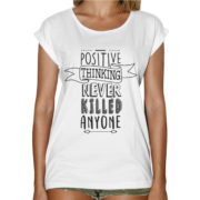T-Shirt Donna Fashion POSITIVE THINKING