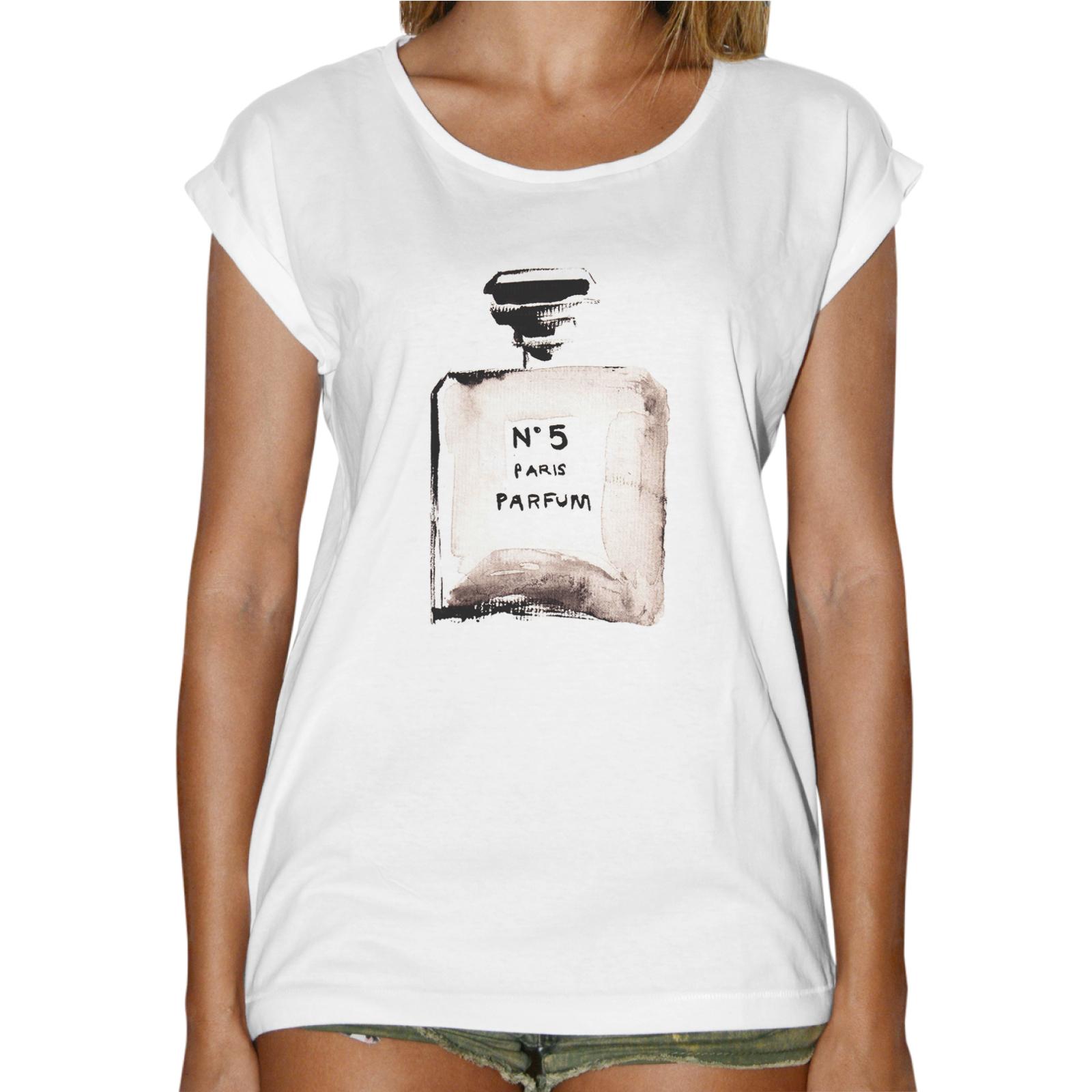 T-Shirt Donna Fashion BOTTIGLIA PROFUMO