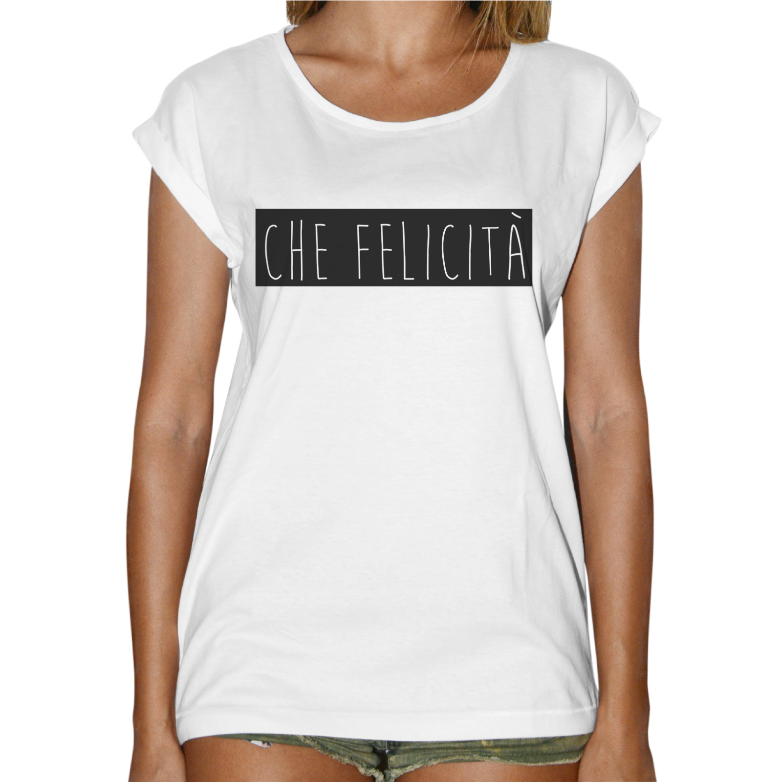 T-Shirt Donna Fashion CHE FELICITA'