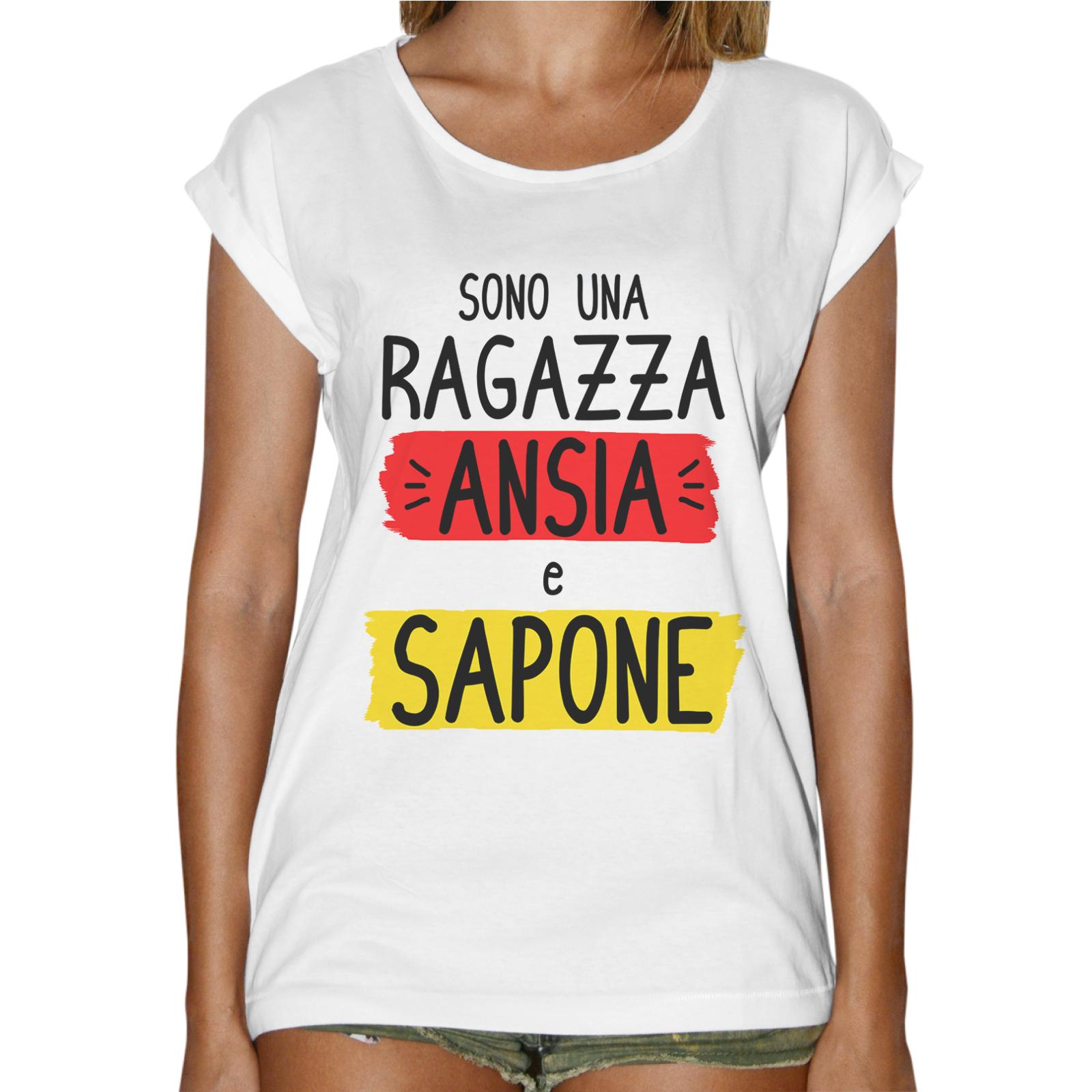 T-Shirt Donna Fashion ANSIA E SAPONE