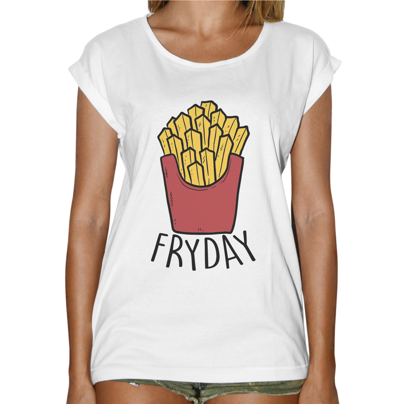 T-Shirt Donna Fashion FRYDAY