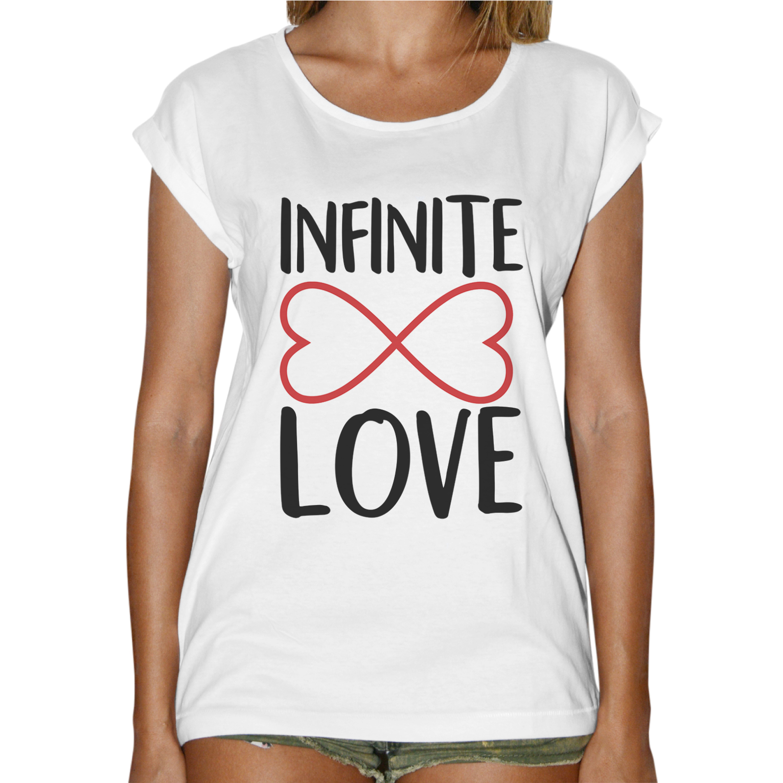T-Shirt Donna Fashion INFINITE LOVE