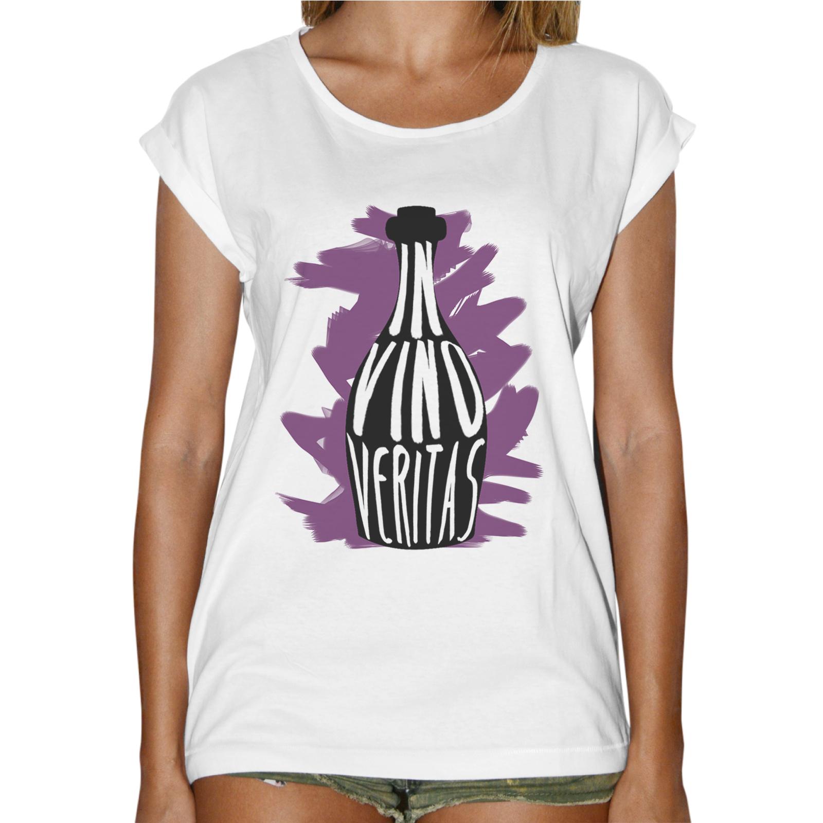 T-Shirt Donna Fashion VINO VERITAS
