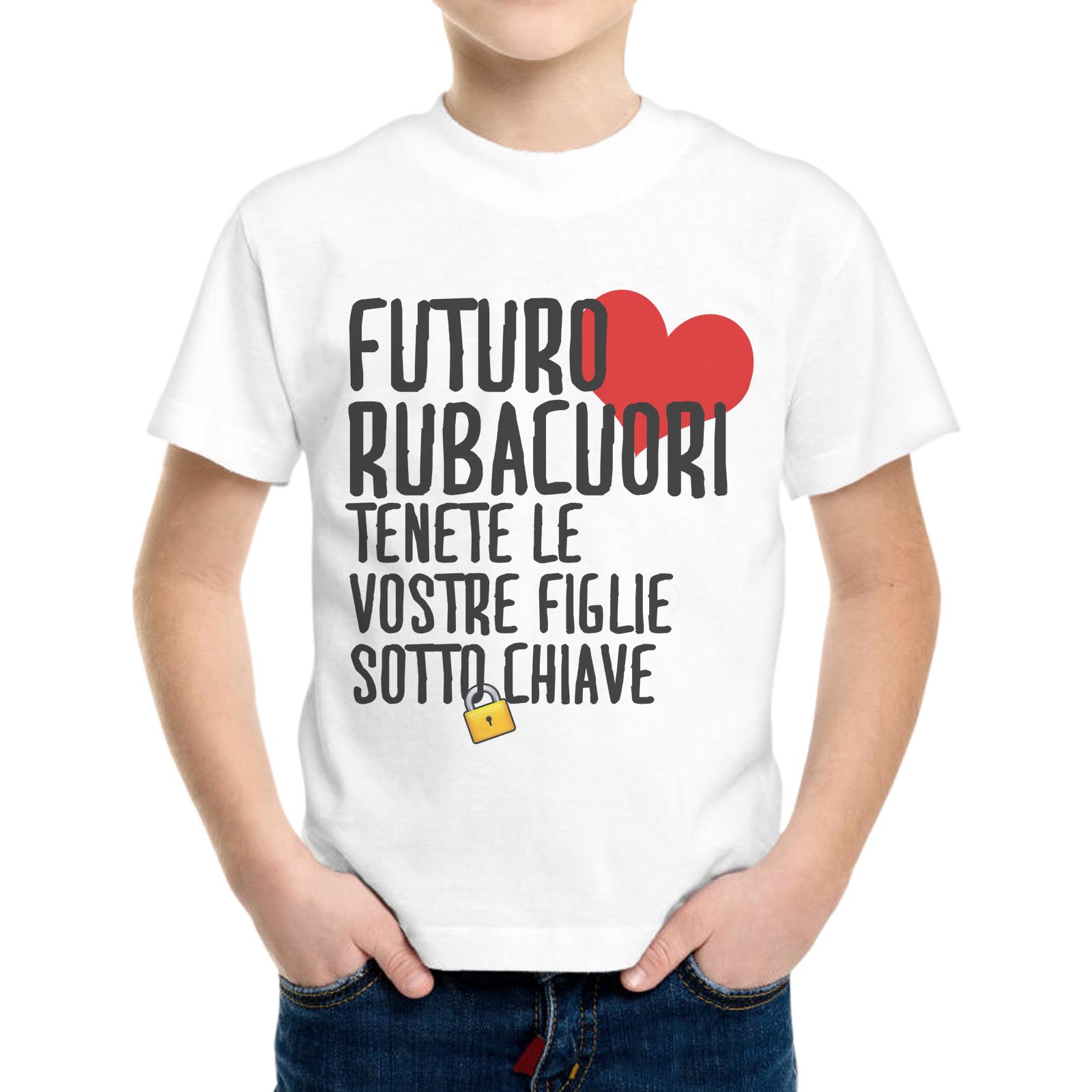 T-Shirt Bambino FUTURO RUBACUORI