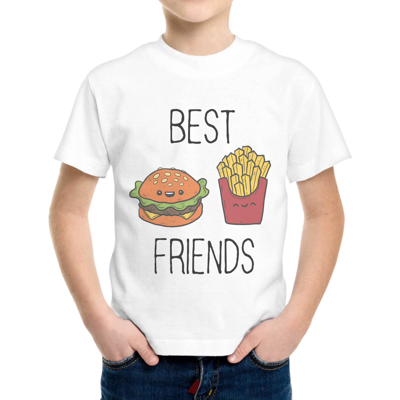T-Shirt Bambino BEST FRIENDS