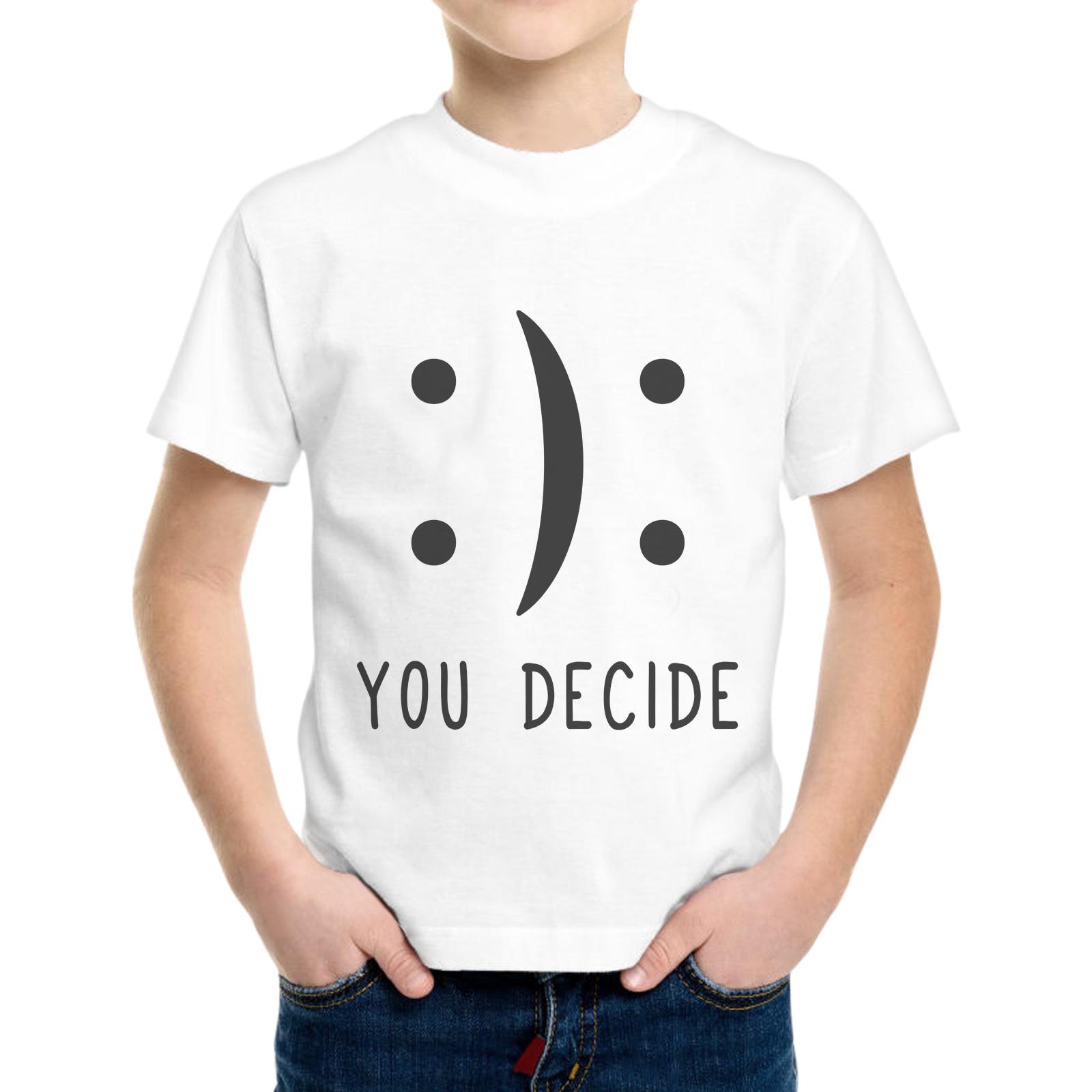 T-Shirt Bambino YOU DECIDE