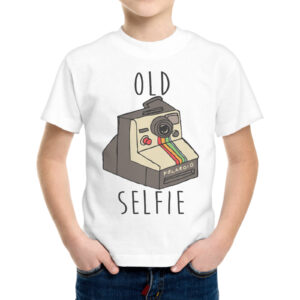 T-Shirt Bambino OLD SELFIE