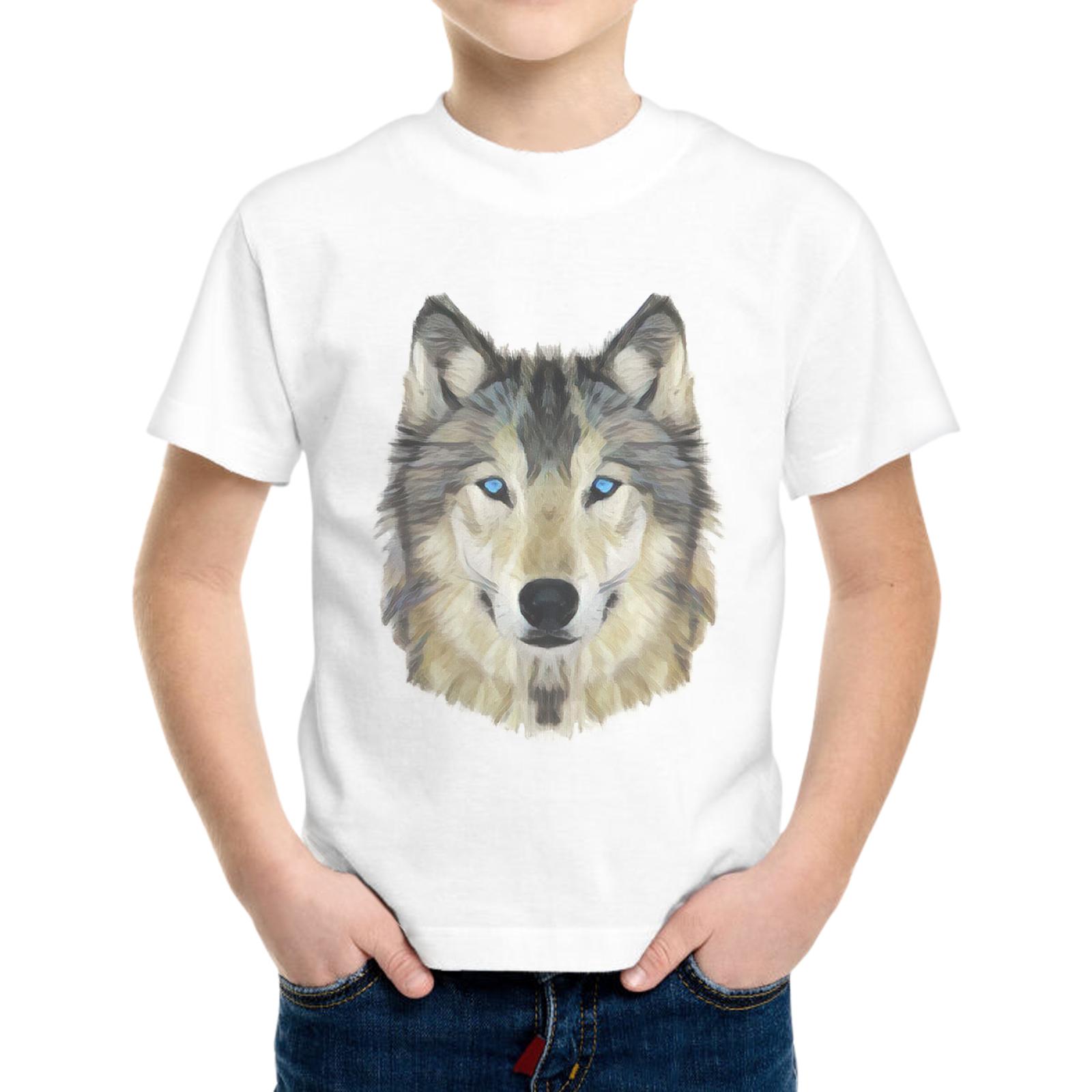 T-Shirt Bambino WOLF FACE