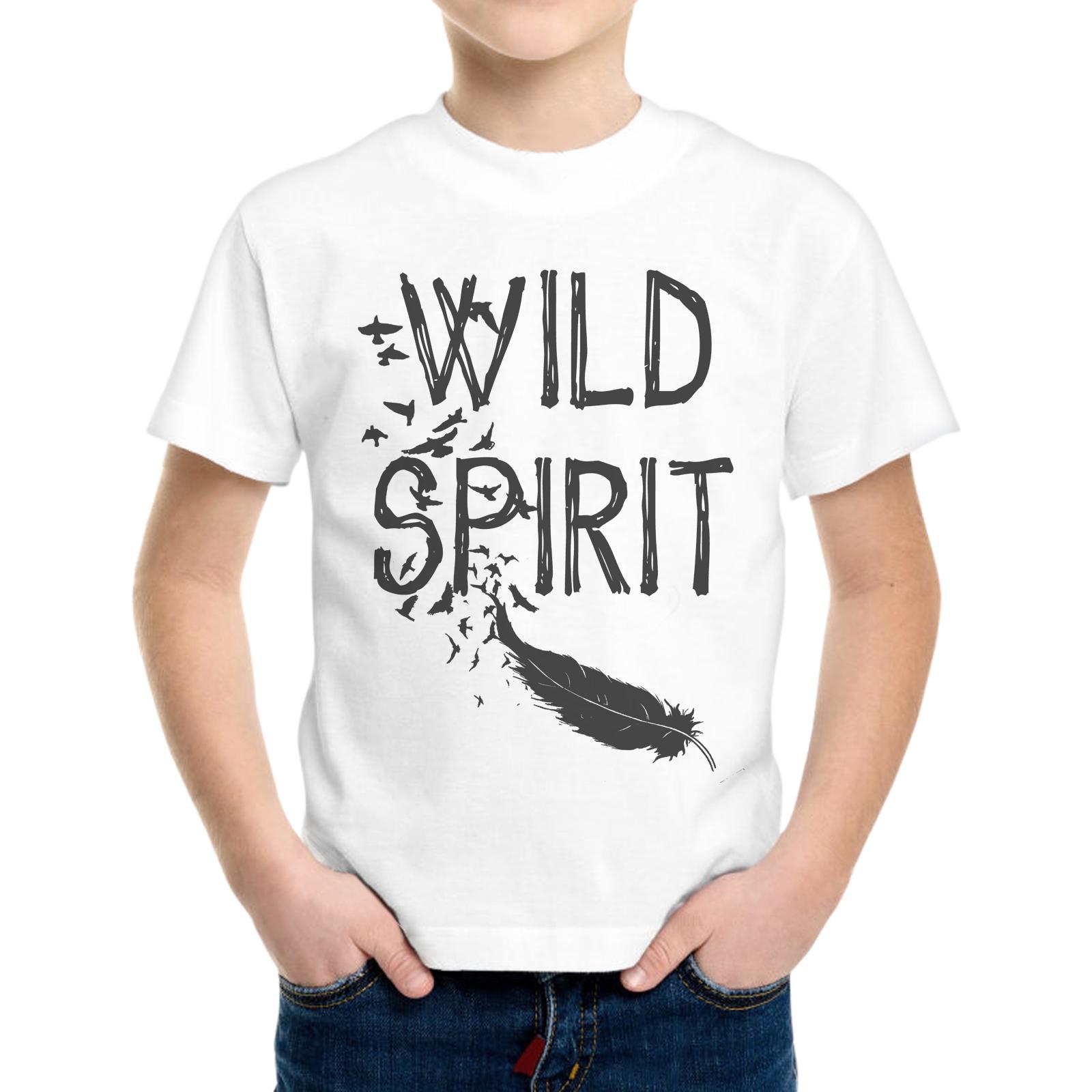 T-Shirt Bambino WILD SPIRIT 1