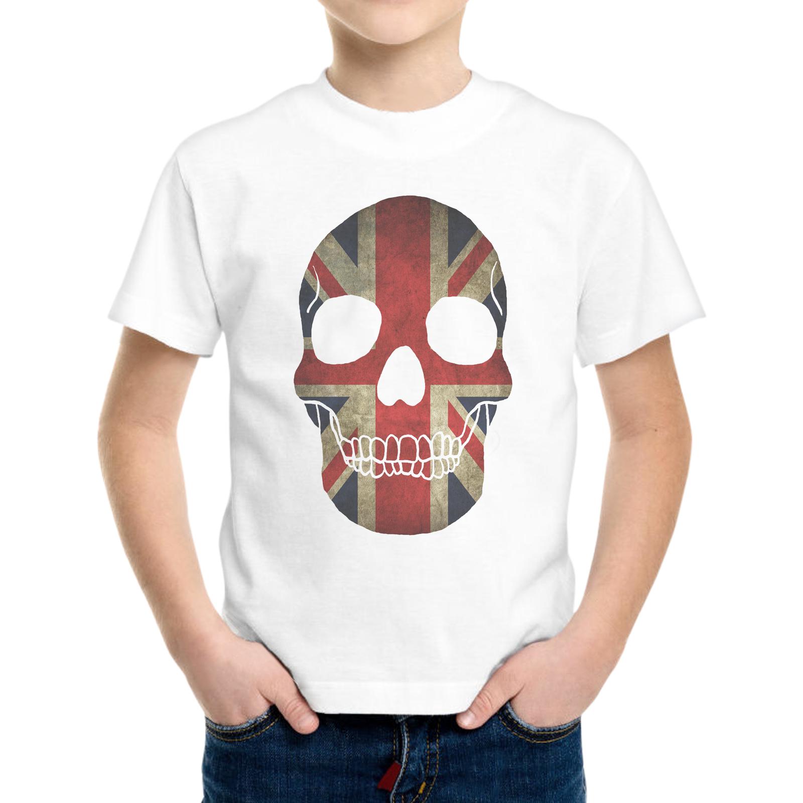 T-Shirt Bambino TESCHIO BANDIERA UK