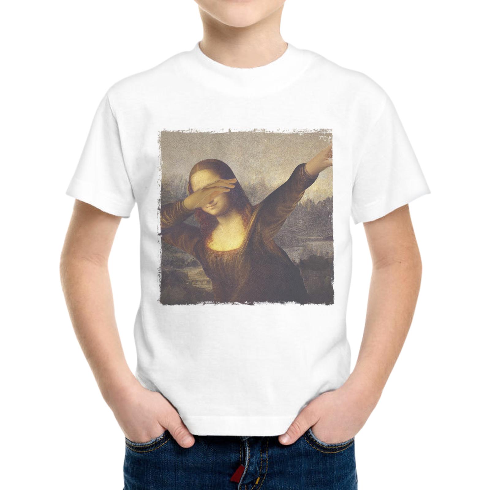 T-Shirt Bambino GIOCONDA DAB