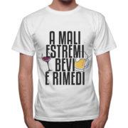 T-Shirt Uomo BEVI E RIMEDI