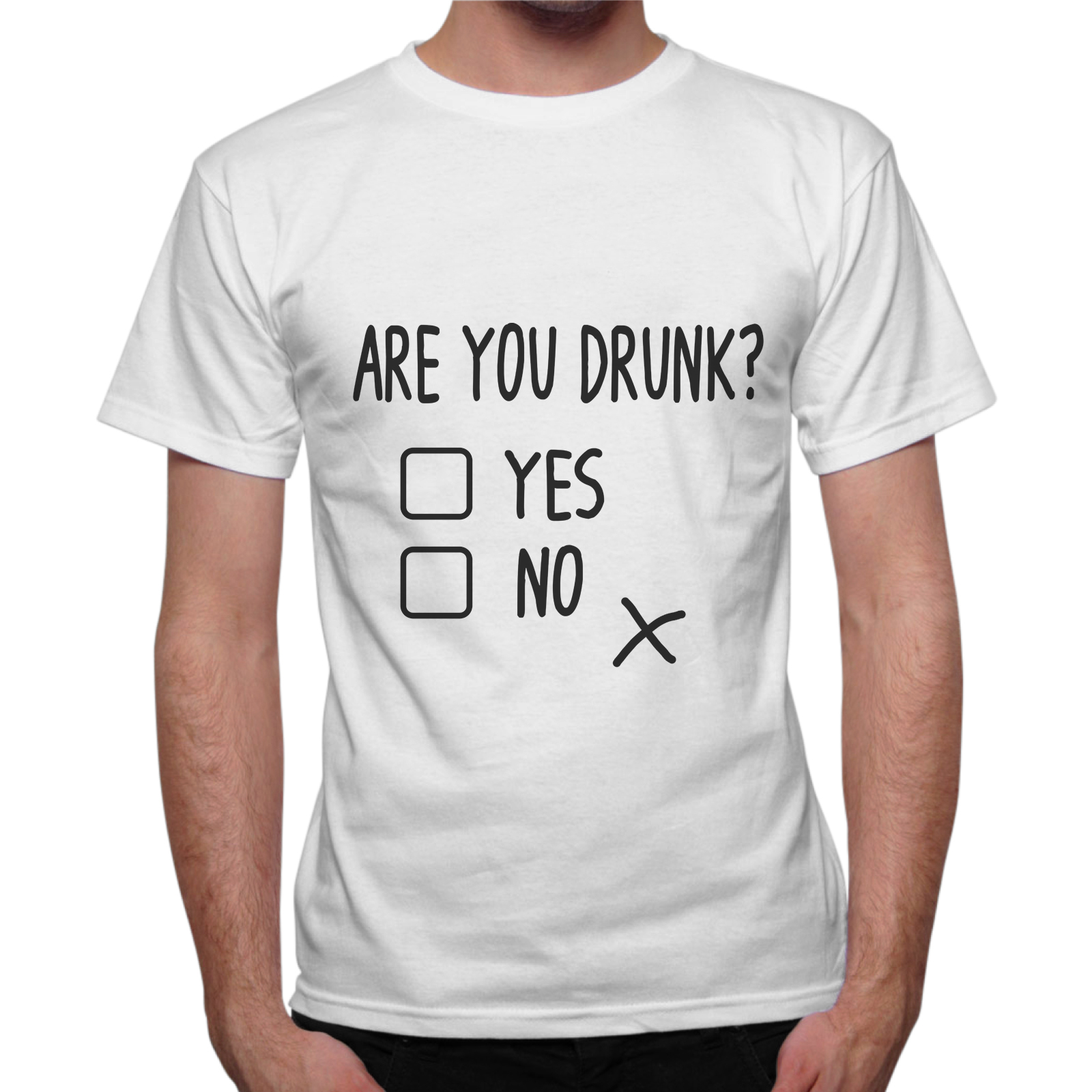 T-Shirt Uomo ARE YOU DRUNK?