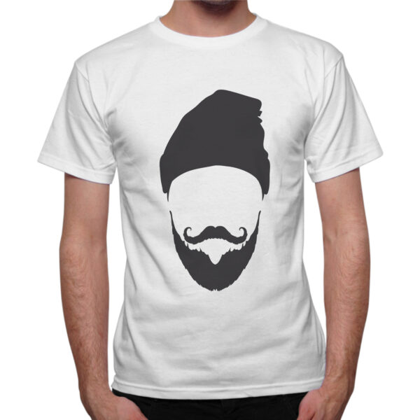 T-Shirt Uomo CAPPELLO BARBA 1