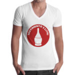 T-Shirt Uomo Scollo V MOVIMENTO 5 LITRI