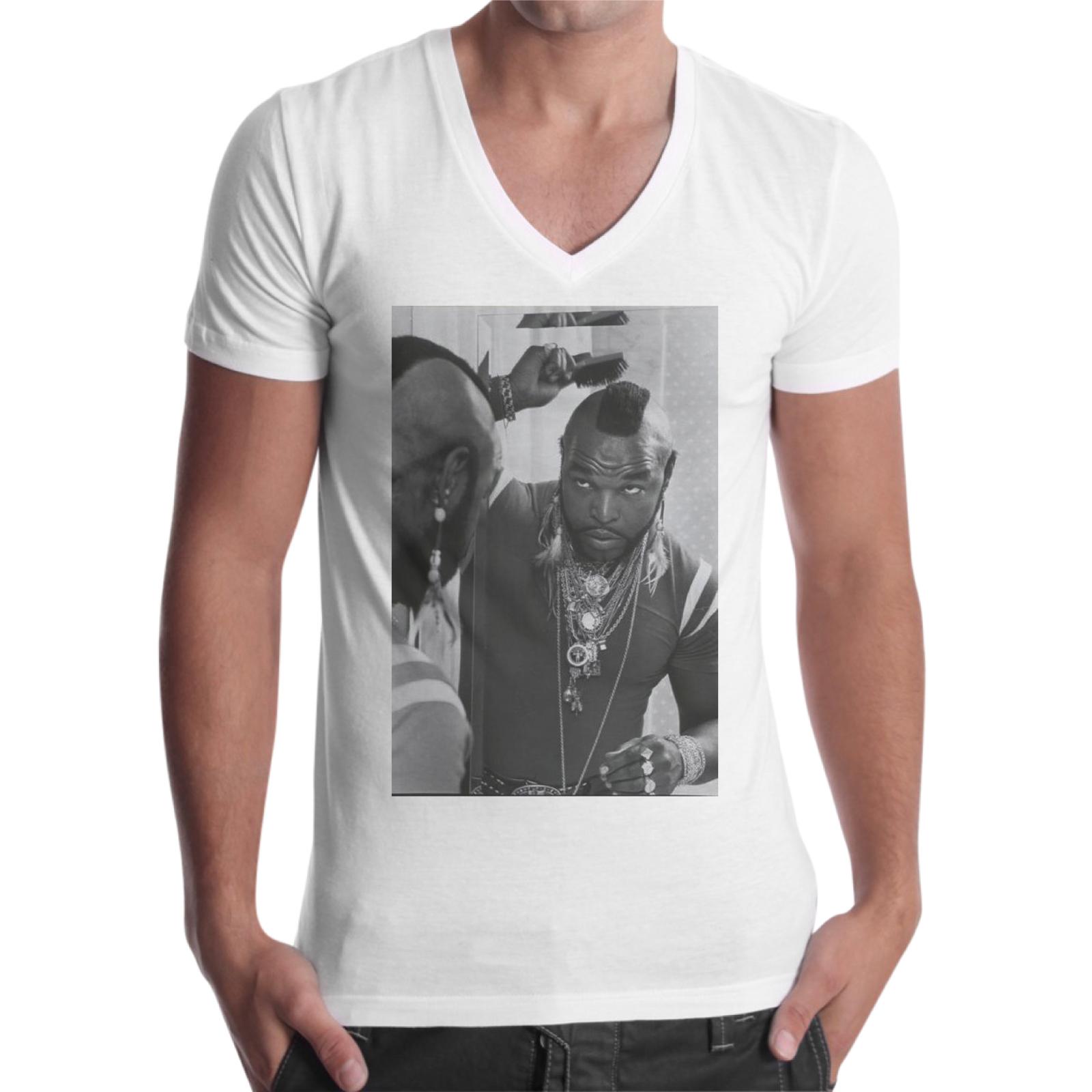 T-Shirt Uomo Scollo V MR.T