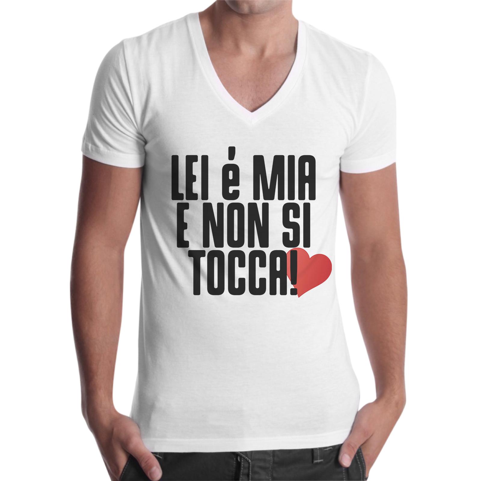 T-Shirt Uomo Scollo V LEI E' MIA