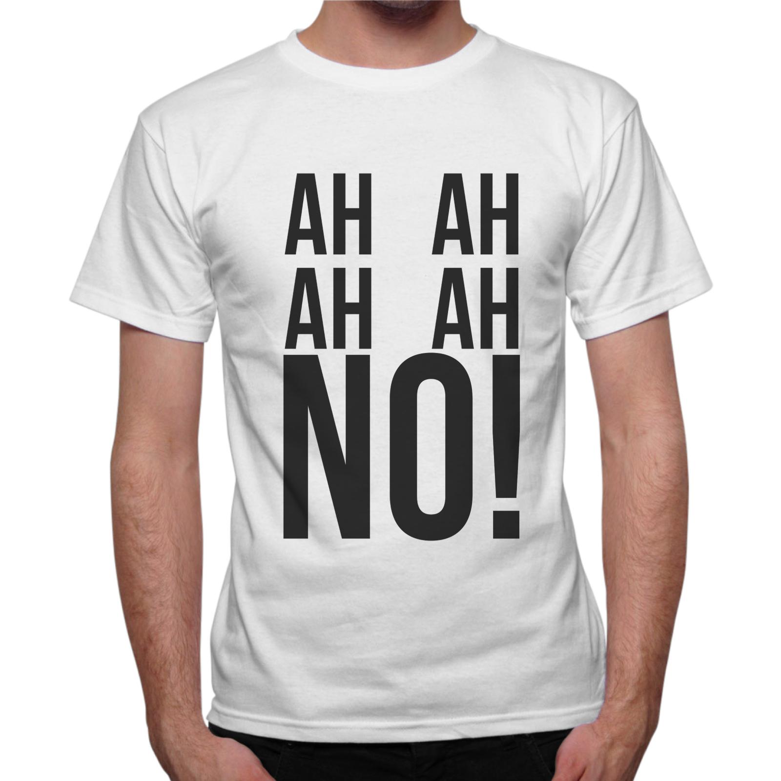 T-Shirt Uomo AH AH NO! 1