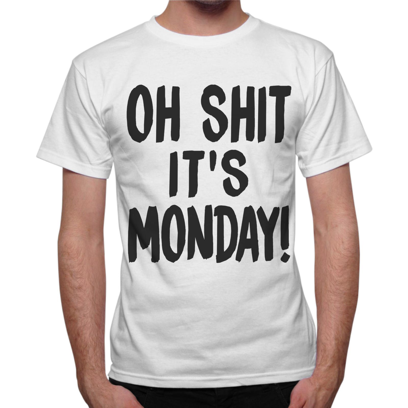 T-Shirt Uomo SHIT IT'S MONDAY