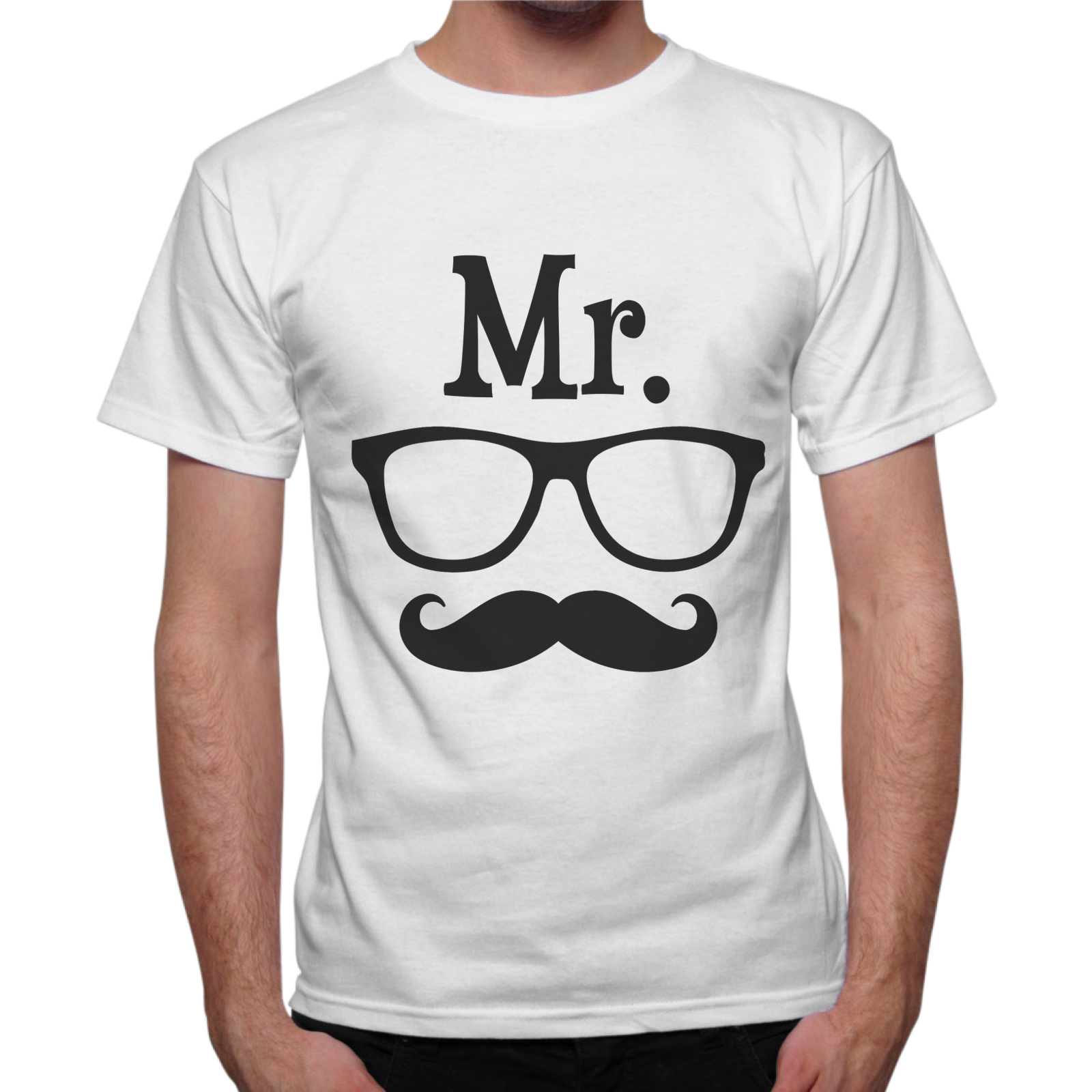 T-Shirt Uomo MR. OCCHIALI BAFFO