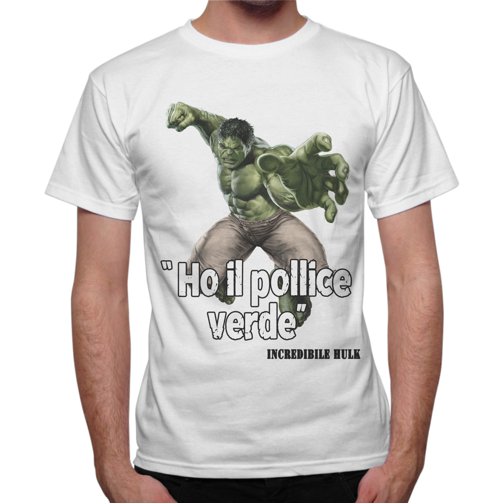 T-Shirt Uomo POLLICE VERDE