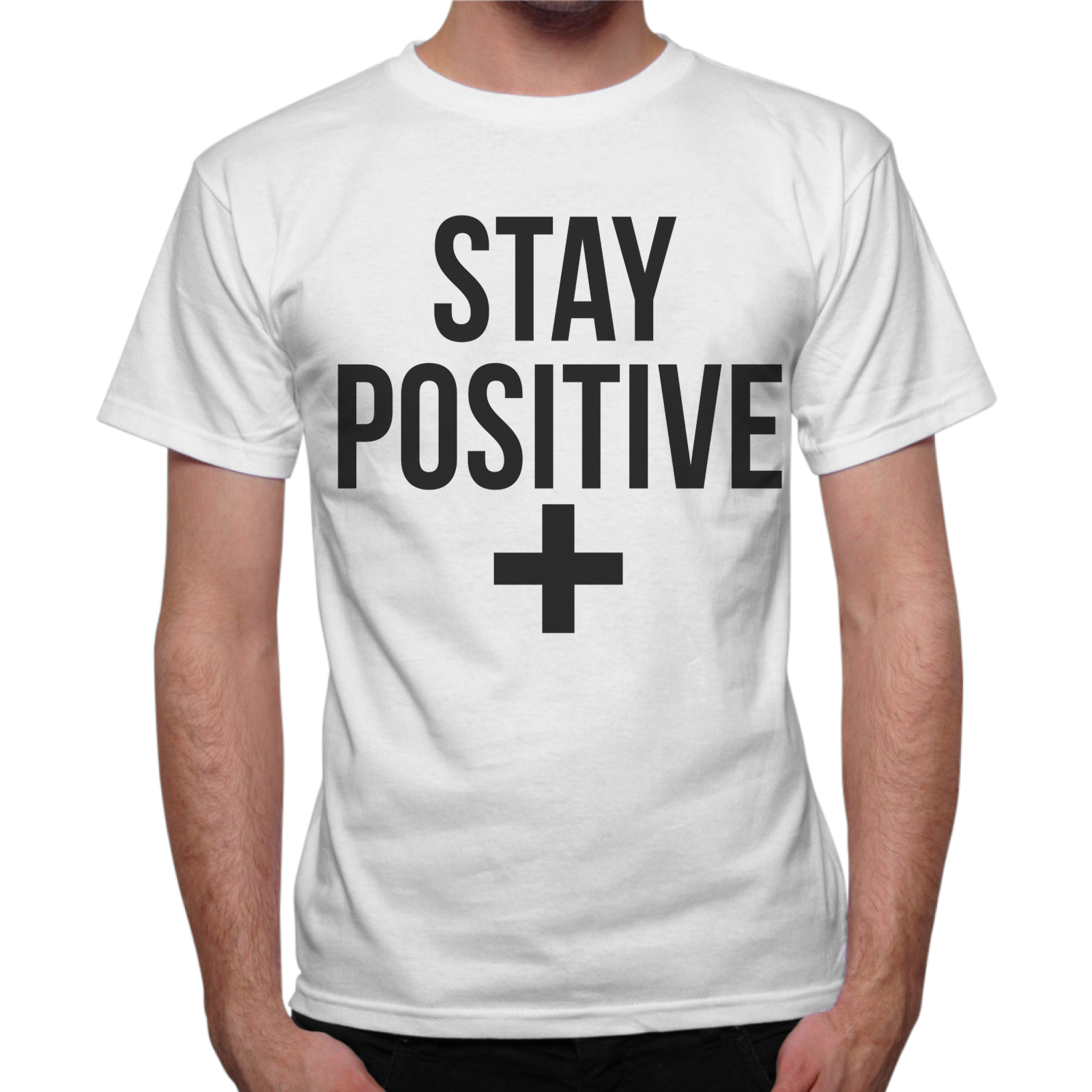 T-Shirt Uomo STAY POSITIVE