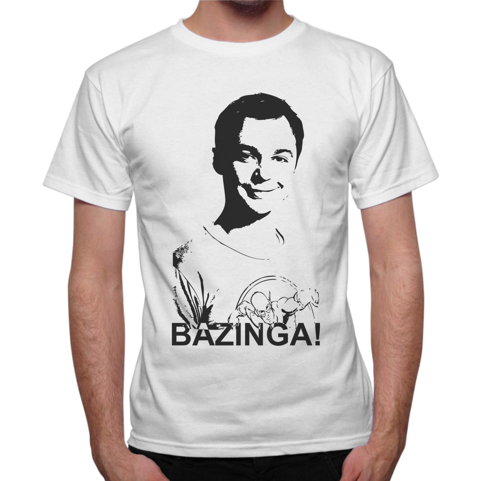T-Shirt Uomo BAZINGA SHELDON
