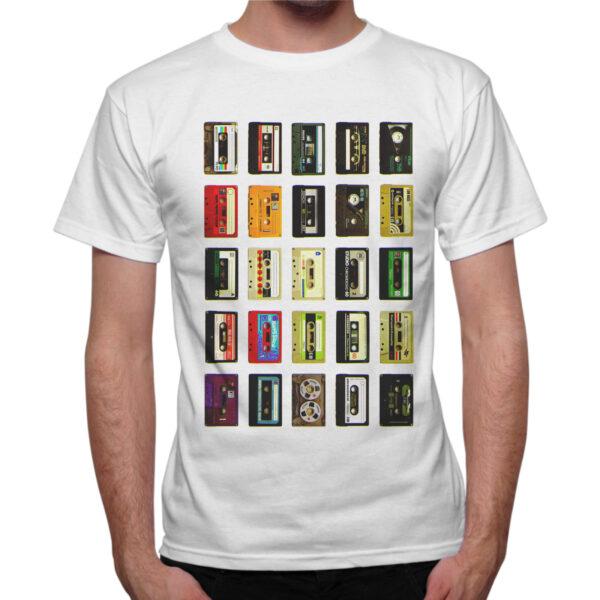 T-Shirt Uomo CASSETTE VINTAGE
