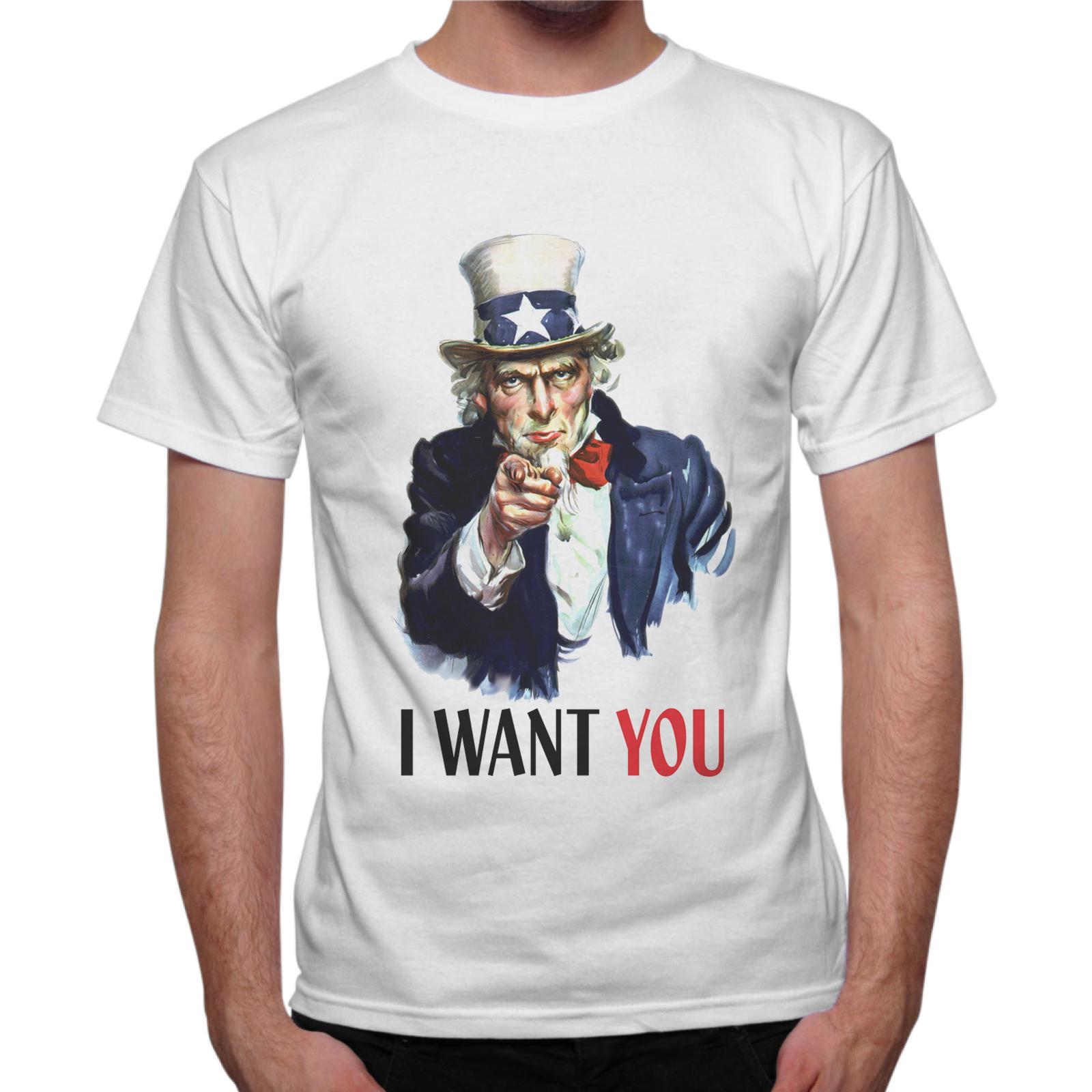 T-Shirt Uomo I WANT YOU