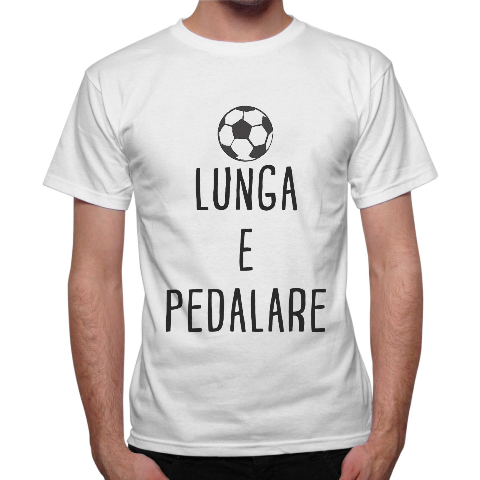 T-Shirt Uomo PALLA LUNGA E PEDALARE