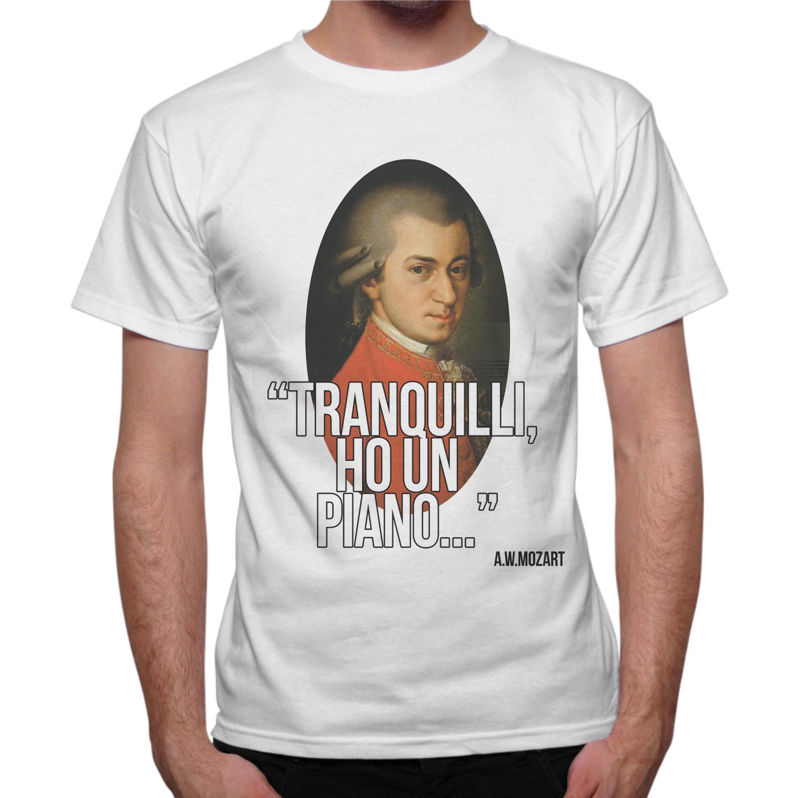 T-Shirt Uomo HO UN PIANO