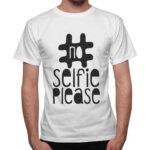 T-Shirt Uomo NO SELFIE
