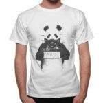 T-Shirt Uomo PANDA WANTED
