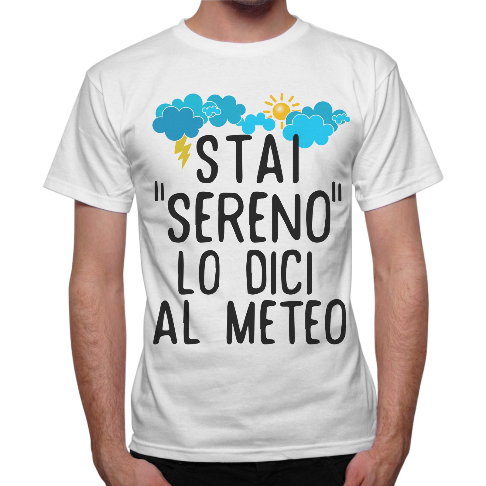 T-Shirt Uomo STAI SERENO